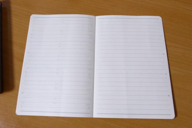 能率手帳キャレル A6 バーチカル1 2021の写真
