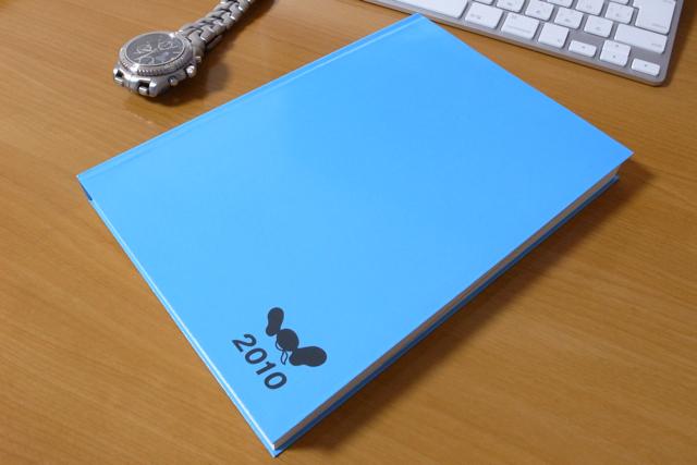 ほぼ日手帳 カズン 2010の写真