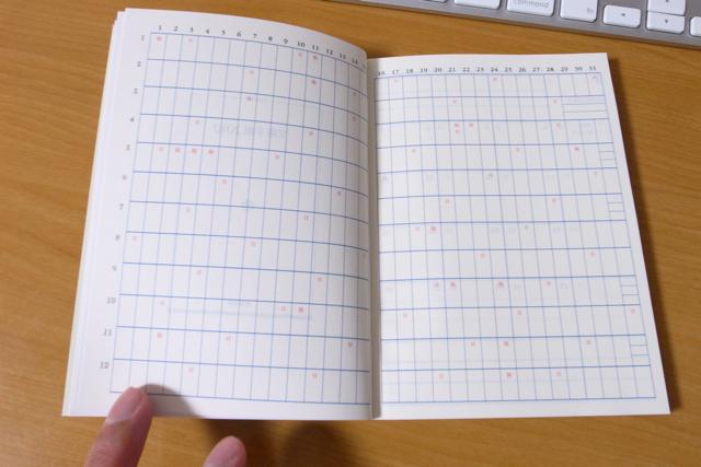 文庫手帳 2010の写真