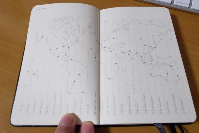 MOLESKINE 2010 限定ダイアリー マルティ・ギセ デザインの写真