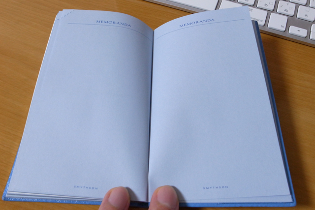 Smythson Panama Diary with pocket 2010の写真