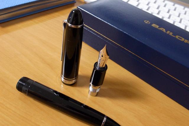 Nagasawa オリジナル万年筆(セーラー万年筆)の写真