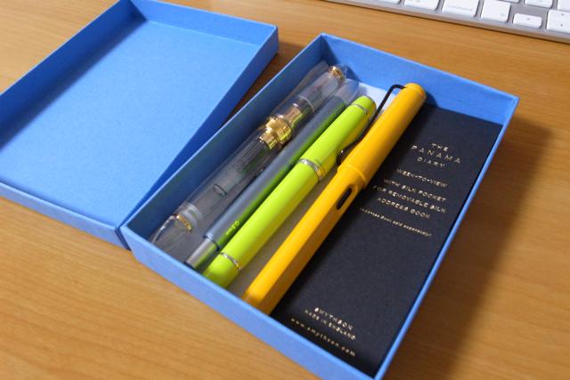 スマイソン手帳の箱の写真