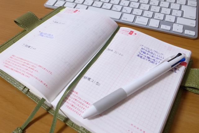 ほぼ日手帳が真っ白な日の写真
