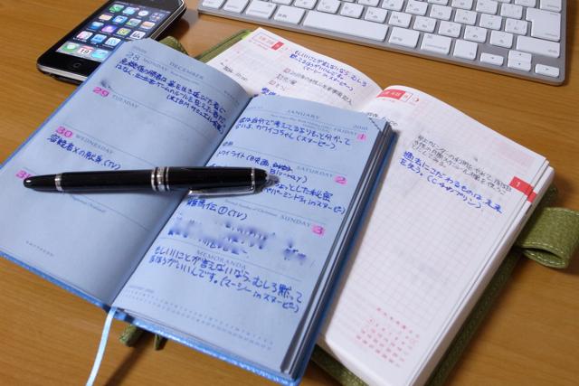 スマイソンと、ほぼ日手帳と、iPhoneの写真