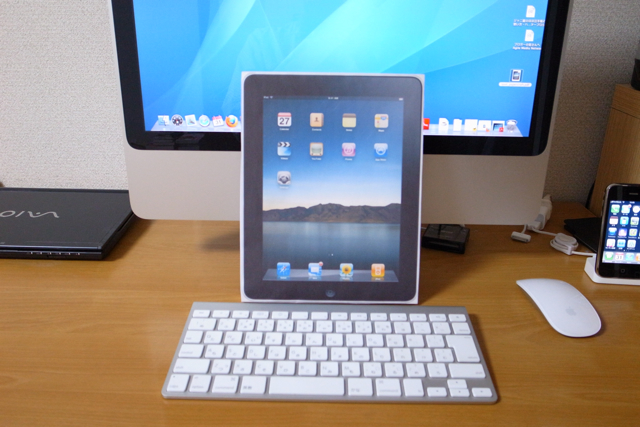 iPadペーパークラフトの写真