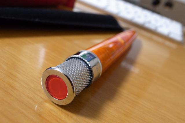 レトロ51 ローラーボール アクリル トルネード ARR-1358 オレンジの写真