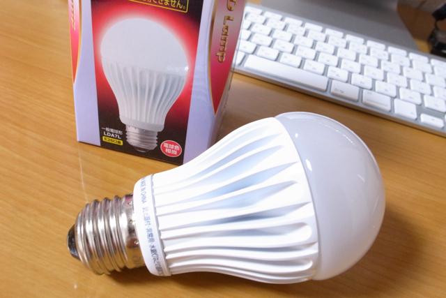 日立 LED電球(全光束:350 lm/電球色相当)HITACHI 一般電球タイプ6.5W LDA7Lの写真