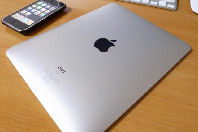 iPadの写真