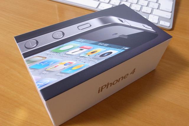 iPhone4 Black 32GBの写真