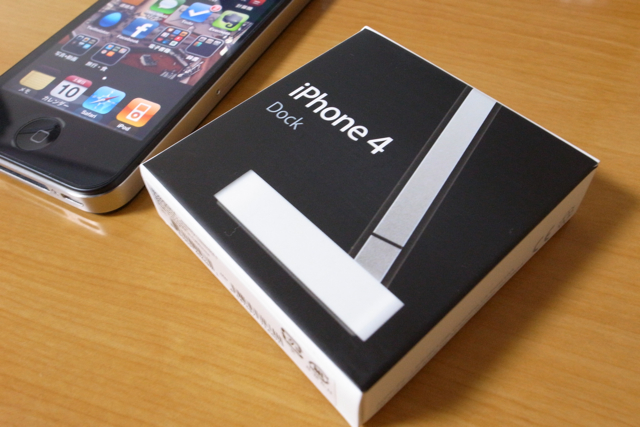iPhone4 ドックの写真