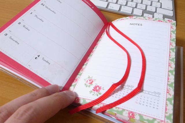 キャス・キッドソン マークス (Cath Kidston MARKS) 2011年手帳 Cherry の写真