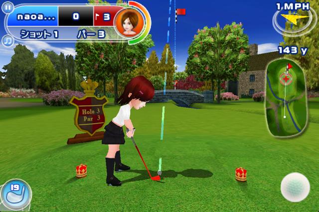 レッツ!ゴルフ2のスクリーンショット