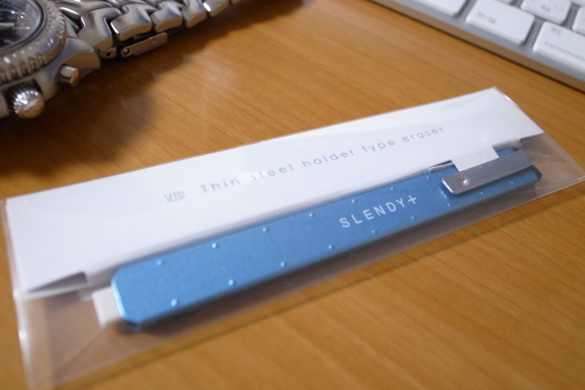 シード スレンディプラス 薄型ホルダー消しゴムの写真