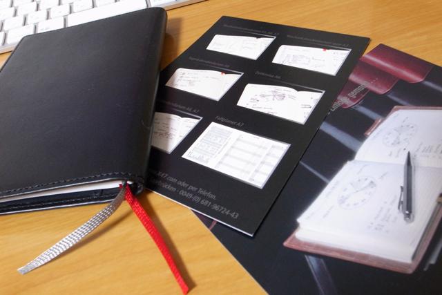 X47手帳の写真