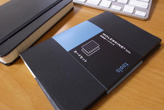 MOLESKINE カードセットの写真