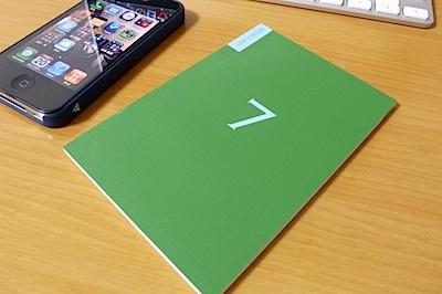 ほぼ日の週間手帳 2011 バーチカルの写真
