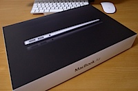 MacBook Air 11インチの写真