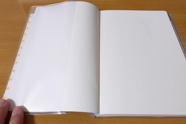 カレンダー 12年カレンダー : 見返し」は、白いページな ...
