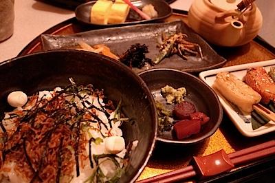 京都でとった昼食の写真
