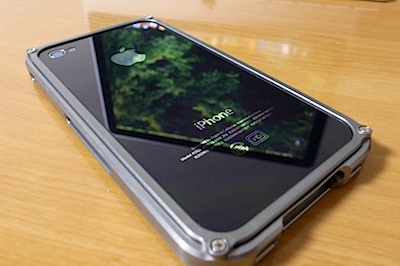 iPhone4 ケース プレミアム BLADEの写真