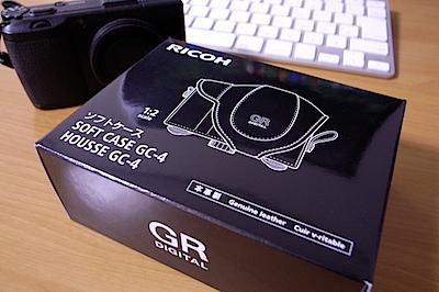 RICOH GC-4 - GR DIGITAL III 用速写ケースの写真