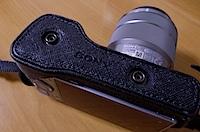 SONY α NEX-5用ケース(LCS-EMB1ALCS-EML2A)の写真
