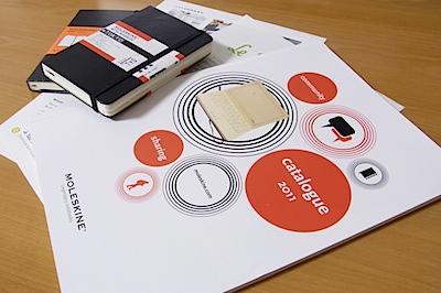 MOLESKINE 2011新作カタログの写真