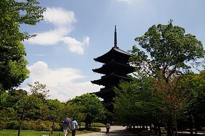 東寺の写真