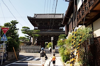 嵯峨野 清涼寺の写真