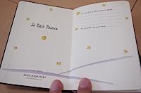 MOLESKINE 星の王子さま 限定版ノートブックの写真