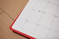 ほぼ日手帳 WEEKS 2012 の写真