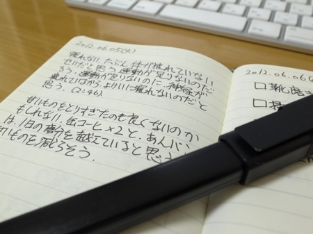 MoleskineとMoleskineローラーペンの写真
