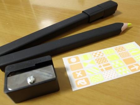 Moleskine 蛍光色鉛筆2本セットの写真