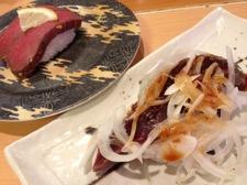 鯨の寿司の写真