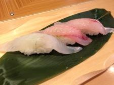 深海魚の寿司の写真