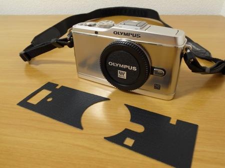 PEN E-P3 張り革の写真