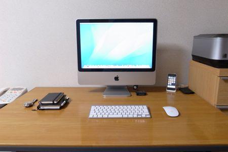 私の机の写真 2010.03.16