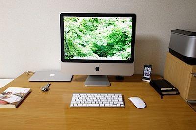 私の机の写真 2012.05.06