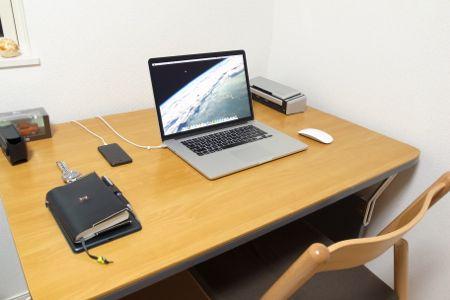 私の机の写真 2012.11.22