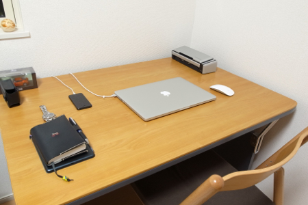 2012.11.20の机の写真