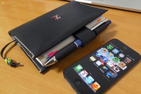 ほぼ日手帳とiPhoneの写真