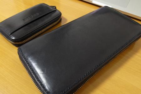 長財布と小銭入れの写真