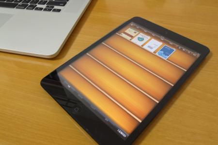 iPad miniとi文庫HDのスクリーンショット