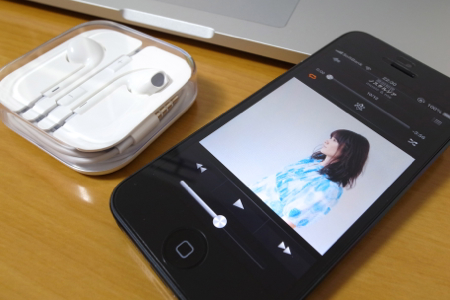 Apple EarPodsの写真