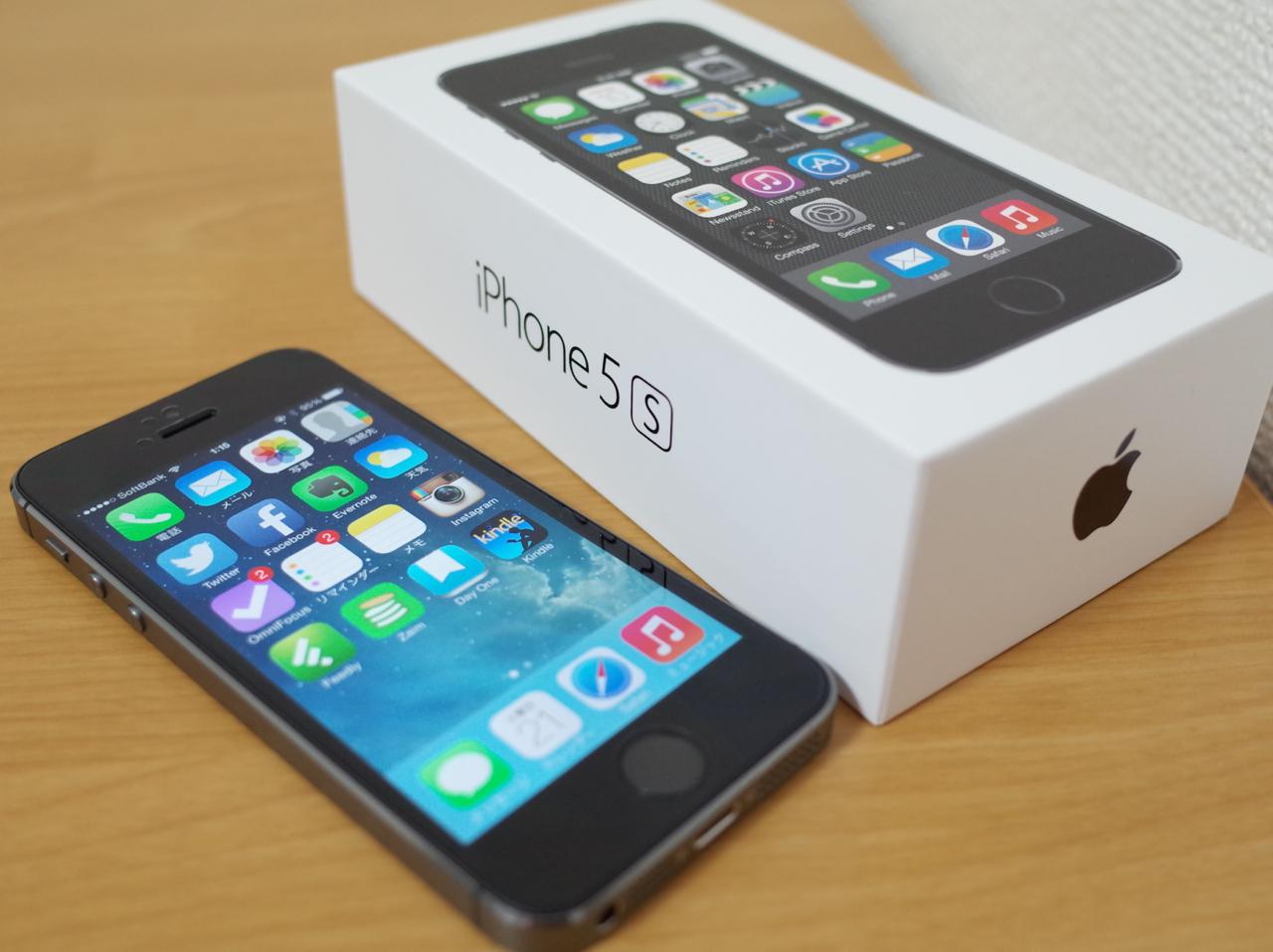 iPhone5sの写真