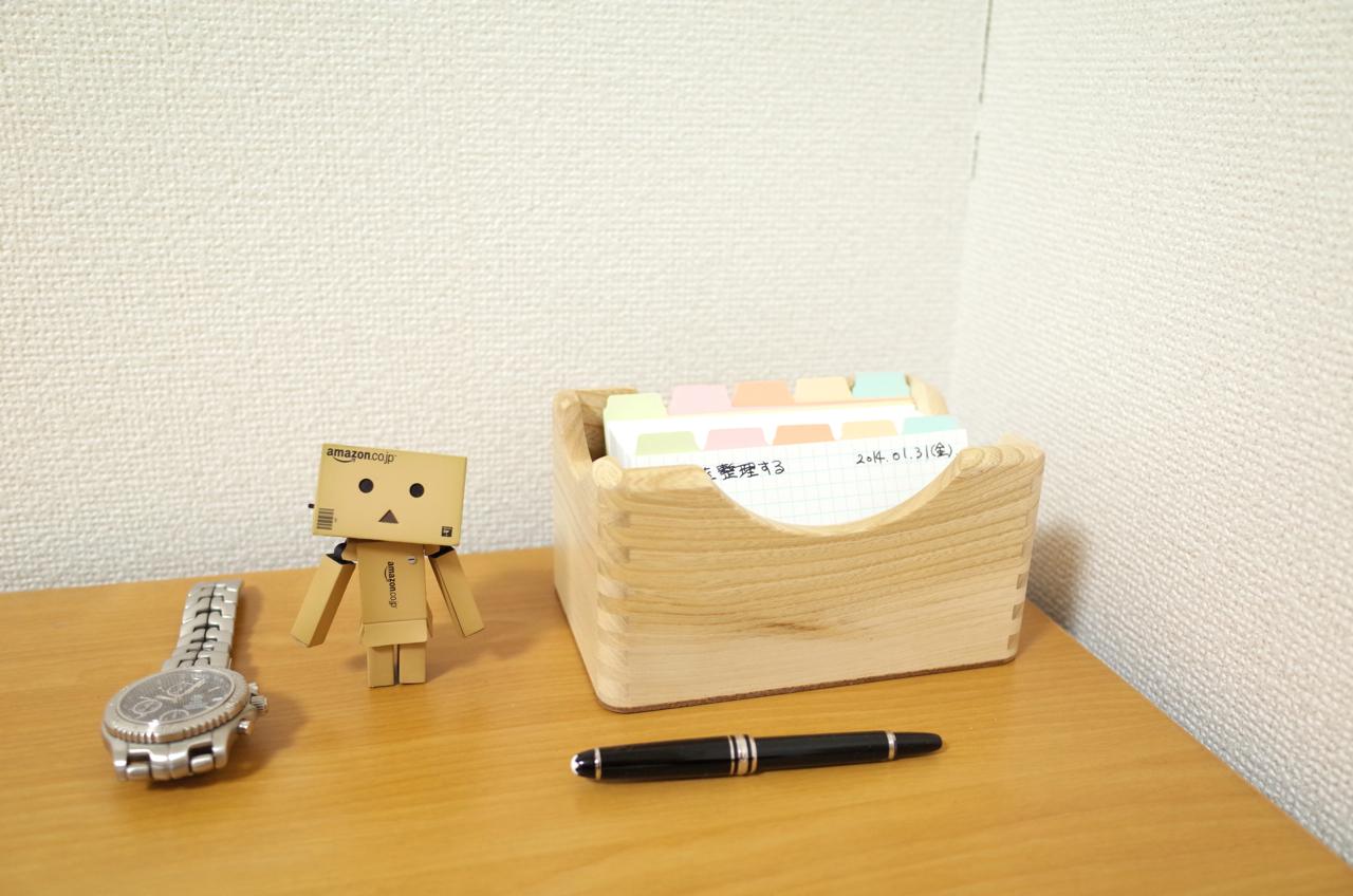 コレクト カードボックス 5×3 蓋無 木製 CB-5302の写真
