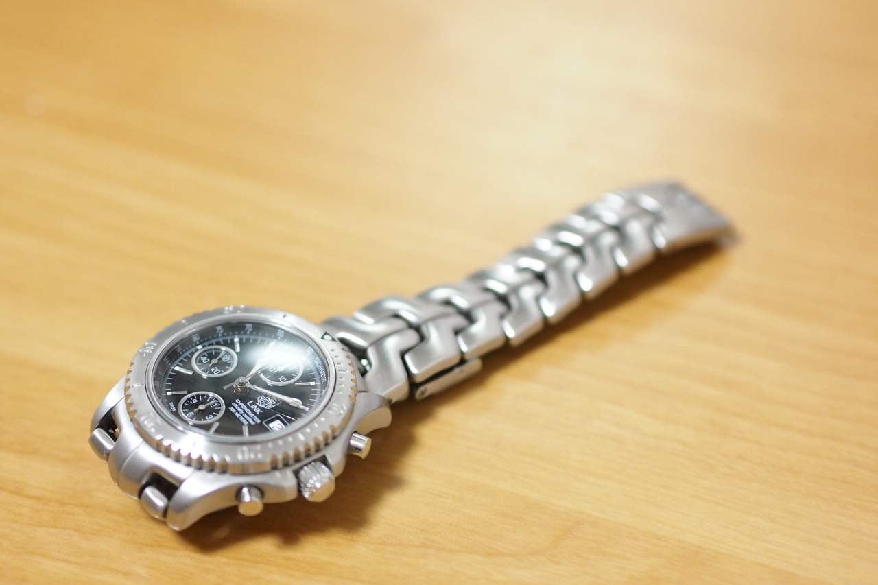 TAG HEUER LINK クロノグラフの写真