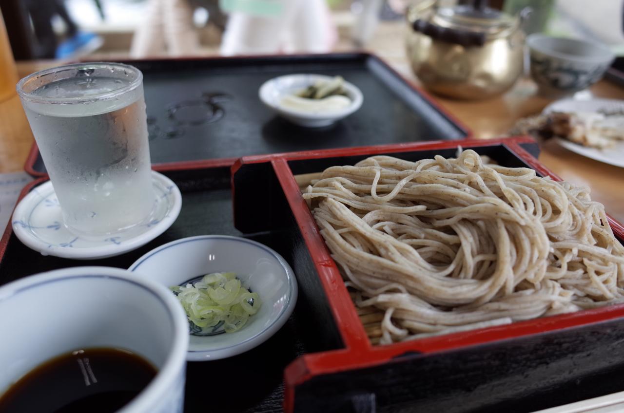 忍野の写真(蕎麦と冷酒 春鶯囀)