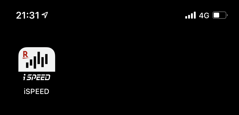 iSpeedのアイコン